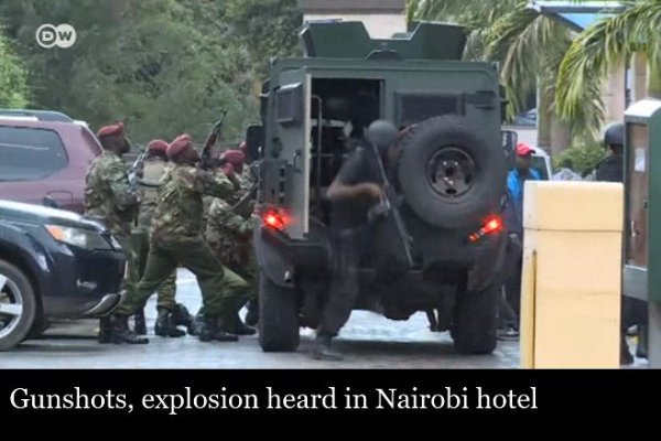Al-Shabab attack at Dusit complex in Nairobi, Kenya